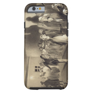 Dancing Party at Kagha-Choura, Dagestan, plate 55 Tough iPhone 6 Case