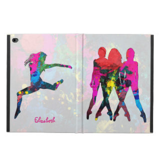 Dancing People Abstract Colors iPad Air 2 Case