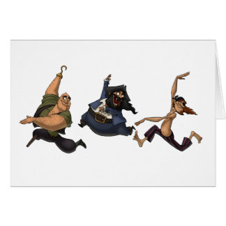 Dancing Pirates Note Card