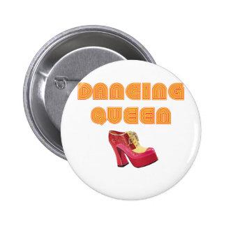 Dancing Queen 6 Cm Round Badge