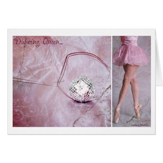 Dancing Queen Diptych Card