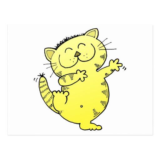Dancing Queen Kitten Post Cards