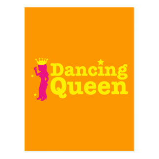Dancing Queen Postcard