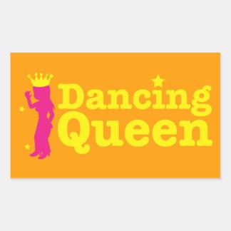 Dancing Queen Rectangular Sticker