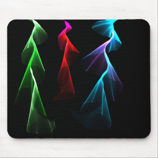 Dancing Rainbow Lightning Mouse Mat