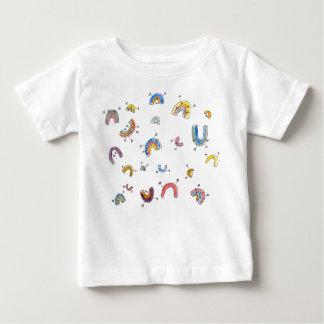 Dancing Rainbows Baby T-Shirt