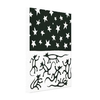 Dancing Rats Canvas Print