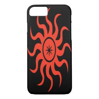 Dancing Red Sun iPhone 7 Case
