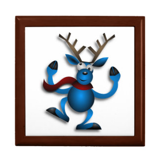DANCING REINDEER GIFT BOX