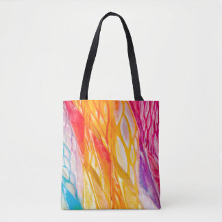 Dancing Ribbon Nebula Tote Bag