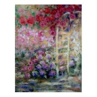 Dancing Roses Post Card
