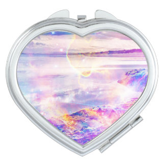 Dancing Sea Mirror For Makeup