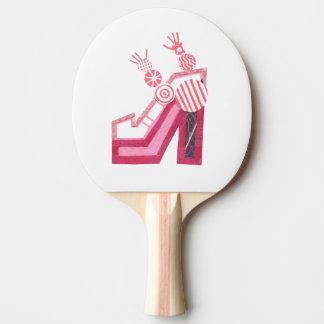 Dancing Shoes Ping Pong Paddle