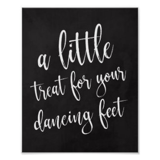 Dancing Shoes Shoes Chalkboard 8x10 Sign