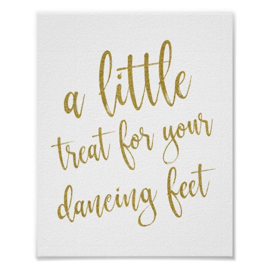c24bb1af7e22 Dancing Shoes Shoes Gold Glitter 8x10 Wedding Sign