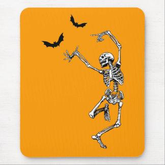 Dancing Skeleton Mouse Pad