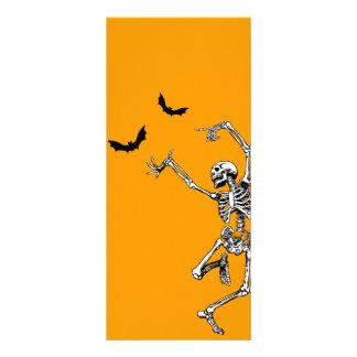 Dancing Skeleton Rack Cards