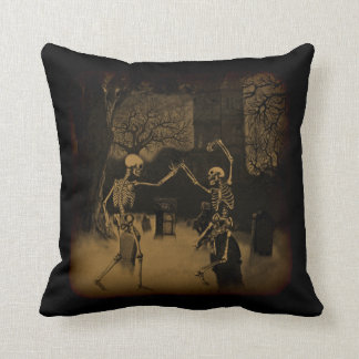 Dancing Skeletons Cushion