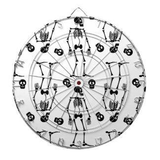 Dancing skeletons dartboards