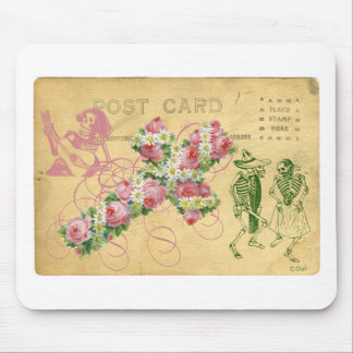 Dancing Skeletons Day Of The Dead Cinco De Mayo Mouse Pad