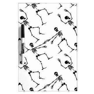 Dancing skeletons Dry-Erase whiteboards