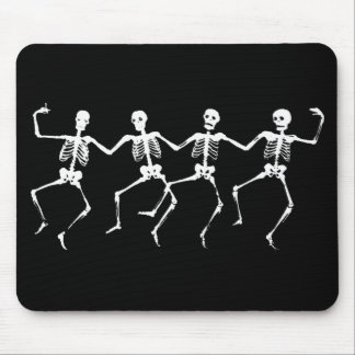 Dancing Skeletons II Mouse Mat
