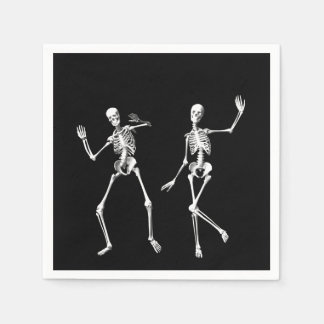 Dancing Skeletons Napkin Disposable Serviette