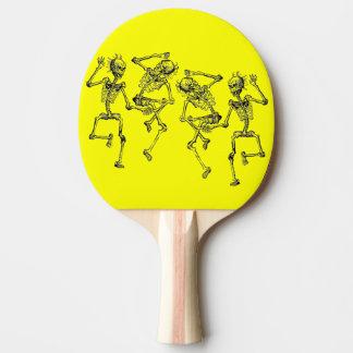 Dancing Skeletons Ping Pong Paddle