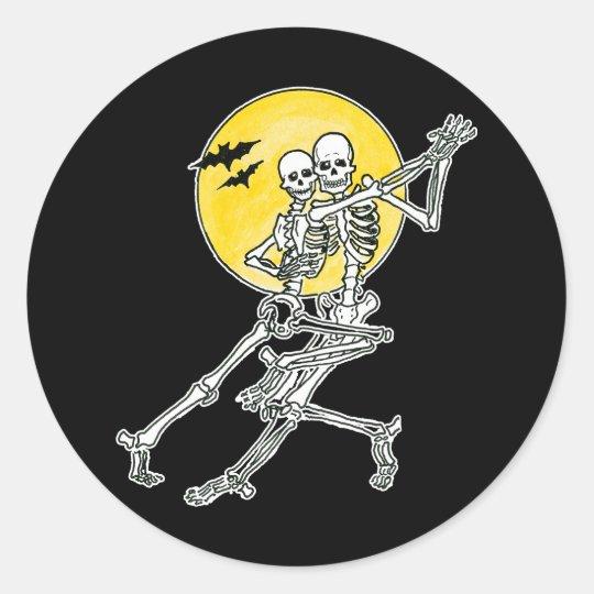 Dancing Skeletons Stickers/Envelope Seals