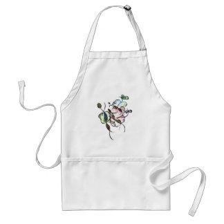 Dancing sprites & fairies - dreamy tribal bee standard apron