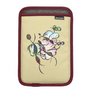 Dancing sprites & fairies - dreamy tribal bees art iPad mini sleeve