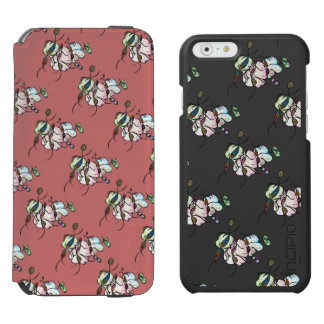 Dancing sprites & fairies - dreamy tribal bees incipio watson™ iPhone 6 wallet case