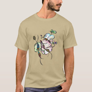 Dancing sprites & fairies - dreamy tribal design T-Shirt