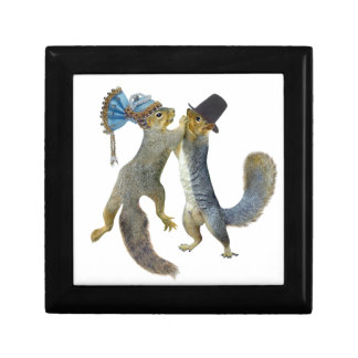 Dancing Squirrels Gift Box