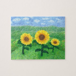 Dancing Sunflower Puzzle