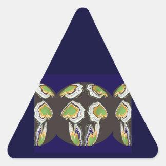 Dancing Sweet Hearts Triangle Sticker