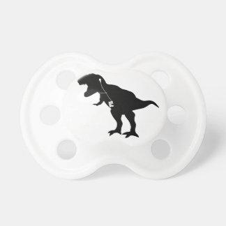 Dancing T-Rex design Baby Pacifier