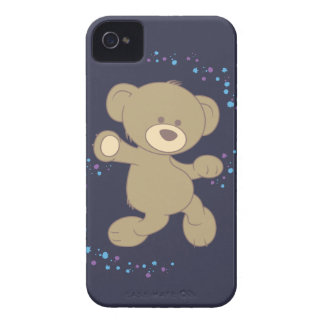 Dancing Teddy Bear iPhone 4 Cases