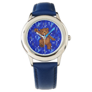 Dancing Teddy Bear Watch