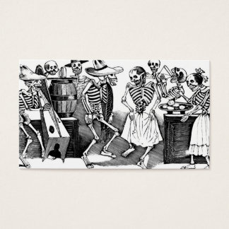"""""""Dancing the Jarabe in the Other World"""" Business Card"""