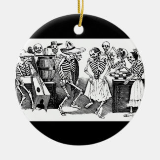 """Dancing the Jarabe in the Other World"" Christmas Ornament"