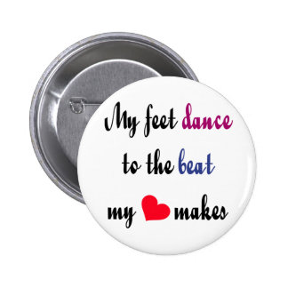 Dancing to the Beat Button s