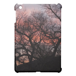 Dancing Tree Skeletons at Sunset iPad Mini Covers