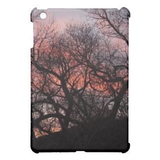 Dancing Tree Skeletons at Sunset iPad Mini Covers