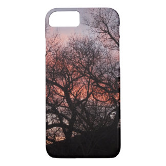 Dancing Tree Skeletons at Sunset iPhone 7 Case
