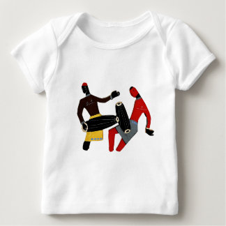 Dancing Tribal Baby T-Shirt