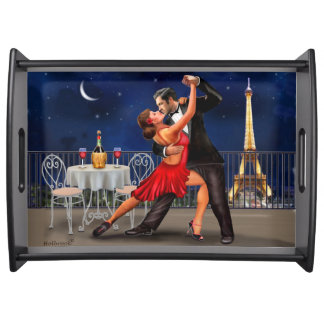 Dancing Under The Stars Serving Tray