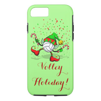 Dancing Volleyball Christmas Elf iPhone 7 Case