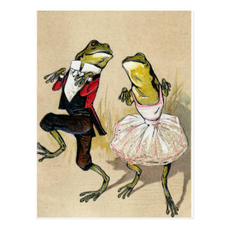 Dancing With the Frogs Postcard