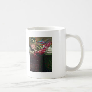 Dancing woman by Ilya Repin Classic White Coffee Mug